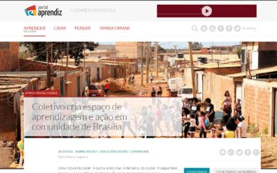 Educação inovadora – Coletivo da Cidade é destaque no Portal Aprendiz