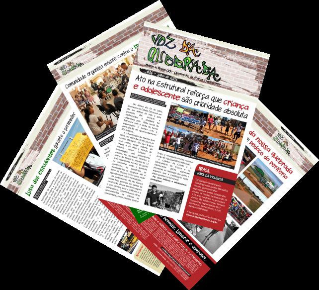 """Boletim """"Voz da Quebrada"""" chega à 4ª edição com novidades"""