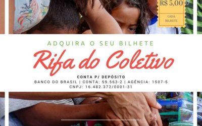 Rifa – Contribua com o Coletivo da Cidade e concorra a prêmios