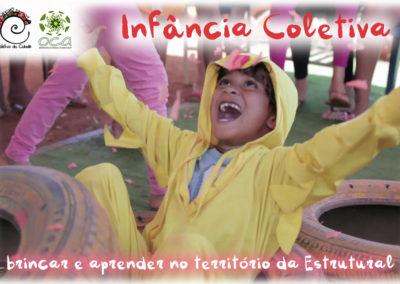 Infância Coletiva – brincar e aprender no território da Estrutural