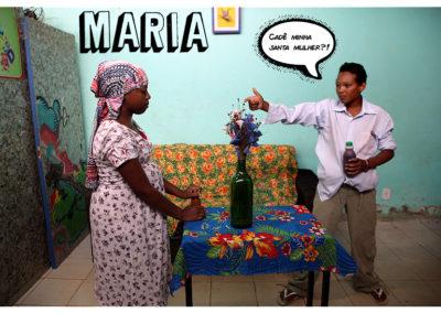 Maria – Fotonovela feita por educandos/as do Projeto OCA