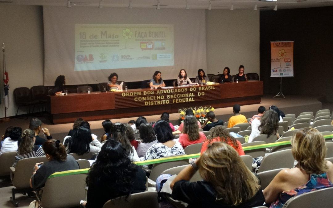 Coletivo da Cidade e OCA participam de seminário sobre o 18 de maio
